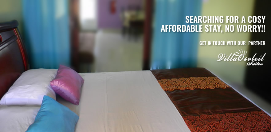 SEARCHING FOR A COSY AFFORDABLE STAY, NO WORRY!! Contact Villaosoleil